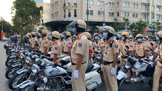 TPHCM ra quân đợt cao điểm tấn công trấn áp tội phạm đảm bảo an ninh trật tự ảnh 3