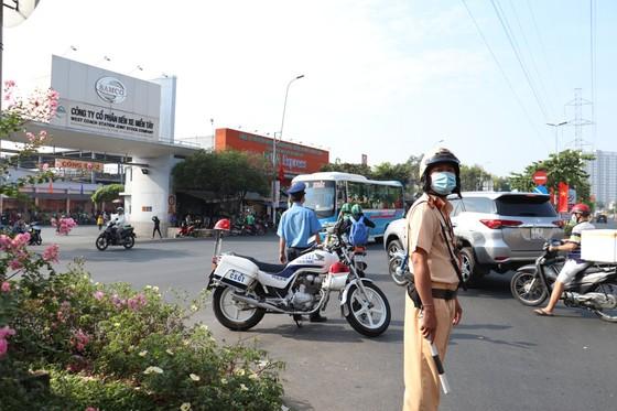TPHCM tăng cường đảm bảo trật tự an toàn giao thông dịp Tết Nguyên đán 2021 ảnh 5