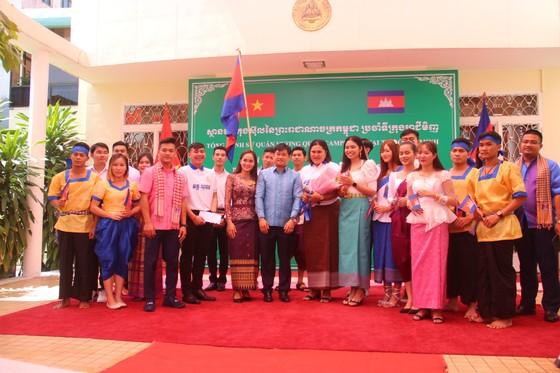 Tổ chức ngày Văn hoá dân tộc của người Khmer tại Tổng lãnh sự quán Campuchia ở TPHCM ảnh 1