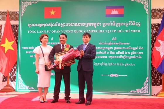 Tổ chức ngày Văn hoá dân tộc của người Khmer tại Tổng lãnh sự quán Campuchia ở TPHCM ảnh 3