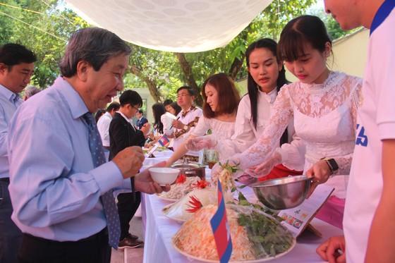 Tổ chức ngày Văn hoá dân tộc của người Khmer tại Tổng lãnh sự quán Campuchia ở TPHCM ảnh 4