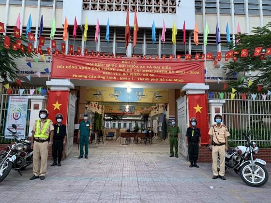 Công an TPHCM đảm bảo tuyệt đối an toàn bầu cử ảnh 1