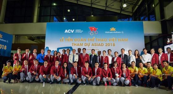 Đoàn Thể thao Việt Nam đi dự ASIAD 2018