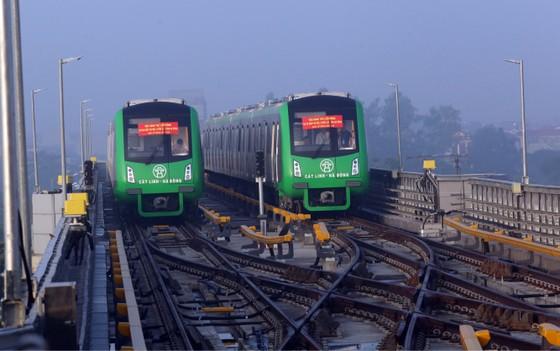 Bắt đầu vận hành thử đoàn tàu đường sắt đô thị Cát Linh- Hà Đông ảnh 3