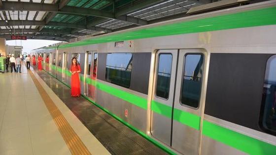 Bắt đầu vận hành thử đoàn tàu đường sắt đô thị Cát Linh- Hà Đông ảnh 1