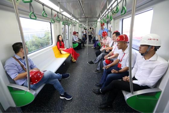 Bắt đầu vận hành thử đoàn tàu đường sắt đô thị Cát Linh- Hà Đông ảnh 5