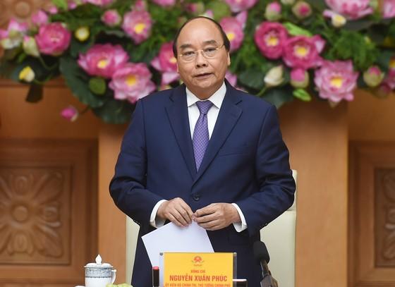 Thủ tướng Nguyễn Xuân Phúc gặp mặt cán bộ đoàn tiêu biểu nhận giải thưởng Lý Tự Trọng 2021 ảnh 1