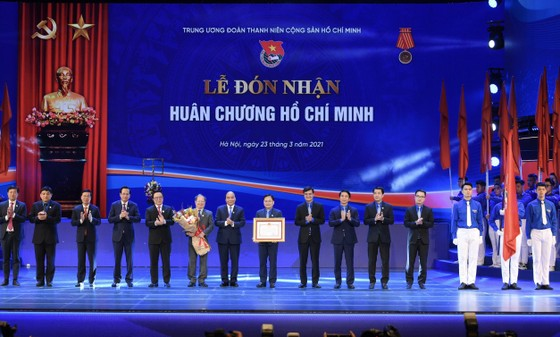 Kỷ niệm 90 năm thành lập, Đoàn Thanh niên đón nhận Huân chương Hồ Chí Minh  ảnh 3