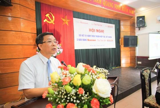 Sơ kết 1 năm kết nghĩa 3 Báo Đảng Hànộimới - Thừa Thiên Huế - Sài Gòn Giải Phóng ảnh 2