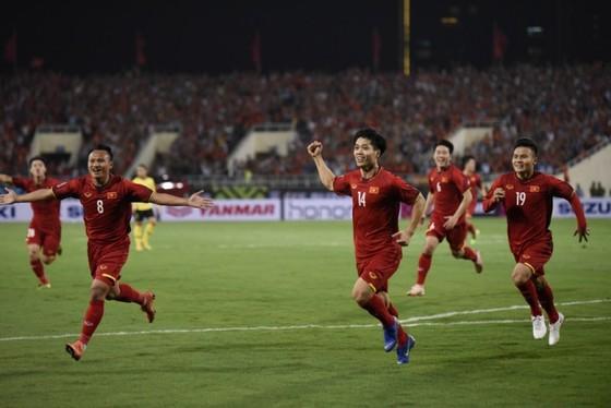 Khoảnh khắc chiến thắng trong trận Việt Nam – Malaysia