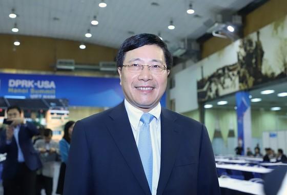Khai trương Trung tâm báo chí quốc tế Hội nghị thượng đỉnh Mỹ - Triều ảnh 3