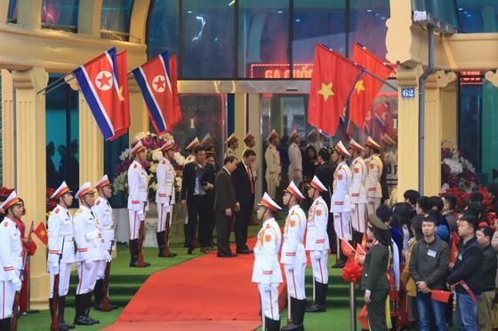 Ông Kim Jong-un đã đến ga Đồng Đăng ảnh 5