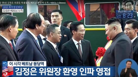 Ông Kim Jong-un đã đến ga Đồng Đăng ảnh 1