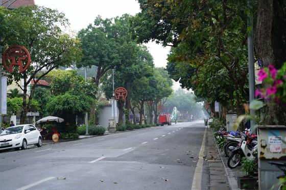 An ninh chốt chặn mọi ngả đường về khách sạn Sofitel Metropole  ảnh 12