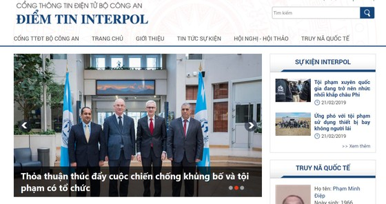 Bộ Công an mở chuyên mục phòng chống tội phạm quốc tế ảnh 1