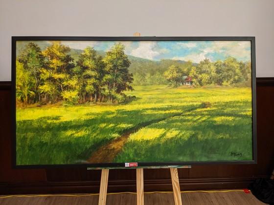 """Đấu giá hơn 100 bức tranh ủng hộ quỹ """"Chung tay trồng rừng Việt Nam"""" ảnh 3"""