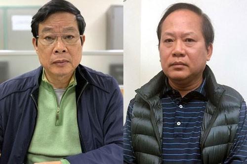 Truy tố 2 cựu Bộ trưởng Bộ TT-TT Nguyễn Bắc Son và Trương Minh Tuấn  ảnh 1