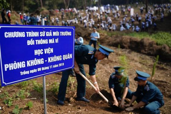 """Phủ xanh 2.000 cây Thông Mã Vĩ trên đồi cây """"Dâng Bác – Ơn Thầy"""" ảnh 16"""