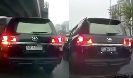 Cảnh sát sẽ kiểm tra kỹ xe gắn biển số giả, thay đổi biển số trên đường ảnh 1