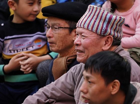 Thanh niên đọ sức tại lễ hội vật làng Mai Động ảnh 9