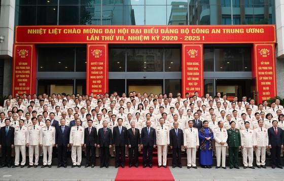 Thủ tướng Nguyễn Xuân Phúc dự Đại hội đại biểu Đảng bộ Công an Trung ương lần thứ VII ảnh 2