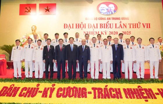 Thủ tướng Nguyễn Xuân Phúc dự Đại hội đại biểu Đảng bộ Công an Trung ương lần thứ VII ảnh 6