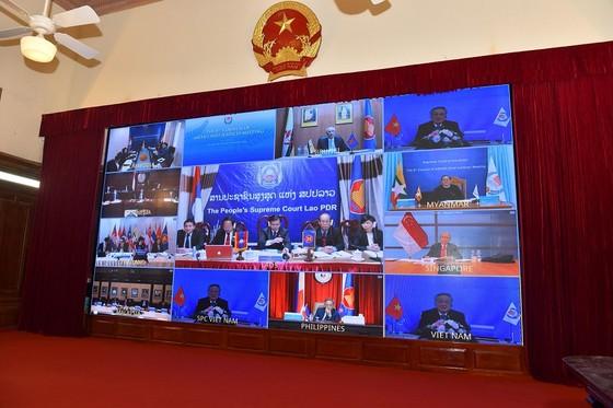 Chánh án các nước ASEAN cùng chia sẻ kinh nghiệm trong hệ thống tư pháp  ảnh 3
