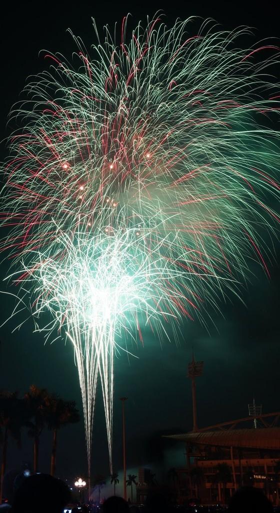 Mãn nhãn với màn pháo hoa chào đón năm mới tại Hà Nội ảnh 10