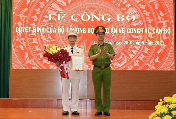 Lãnh đạo mới của Công an tỉnh Thái Bình và Hưng Yên ảnh 1