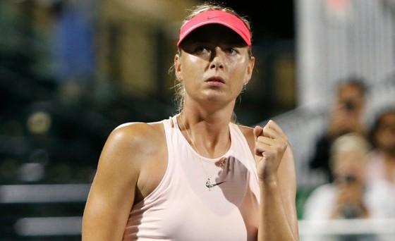 Maria Sharapova thắng trận đầu tiên trên đất Mỹ kể từ năm 2015