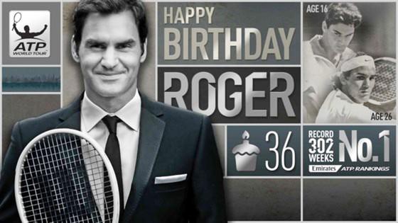 Roger Federer vẫn đang cháy lửa khát khao ở tuổi 36