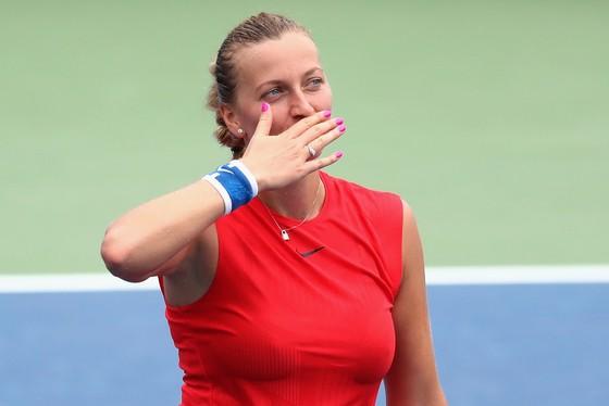 Dù chưa tìm lại phong độ cao nhất, Petra vẫn có đẳng cấp của một tay vợt lớn