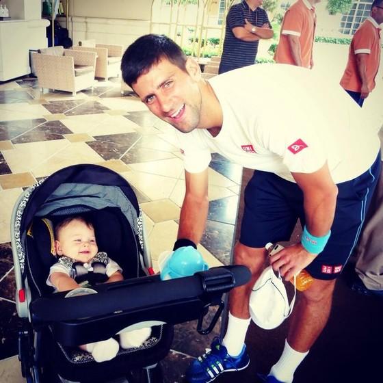 Vợ Djokovic sinh con thứ 2 ảnh 2