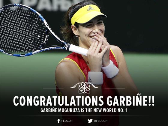 """Garbine Muguruza trở thành """"Tân Nữ hoàng của WTA"""""""