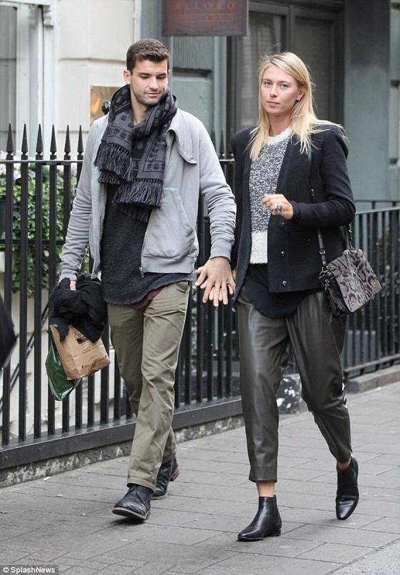 Sharapova và chuyện tình với Dimitrov ảnh 2