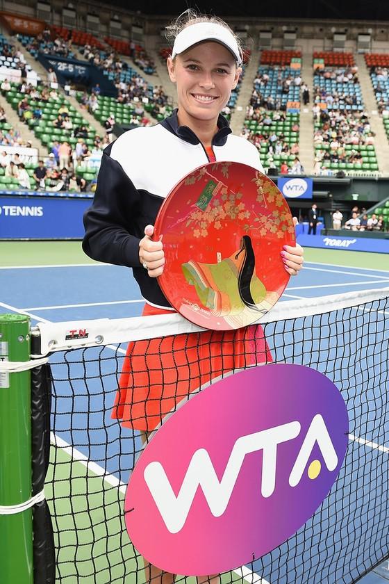 Pan Pacific Open 2017: Ơn trời, Wozniacki... vô địch rồi! ảnh 2