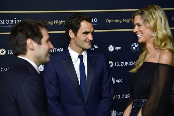 Roger Federer tham gia Liên hoan phim Zurich