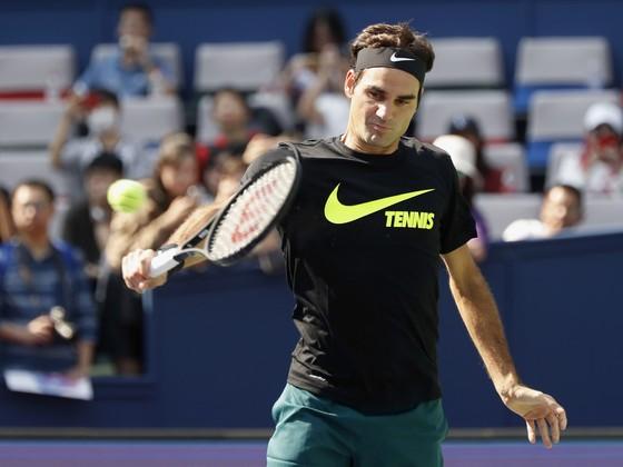 Roger Federer ở Shanghai Masters 2017