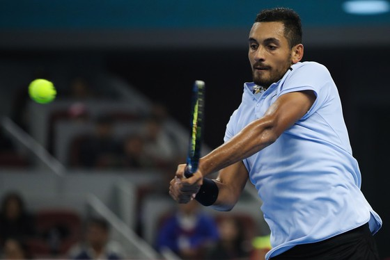 Kyrgios bỏ cuộc ngay sau ván đấu đầu tiên của trận mở màn tại Shanghai Masters