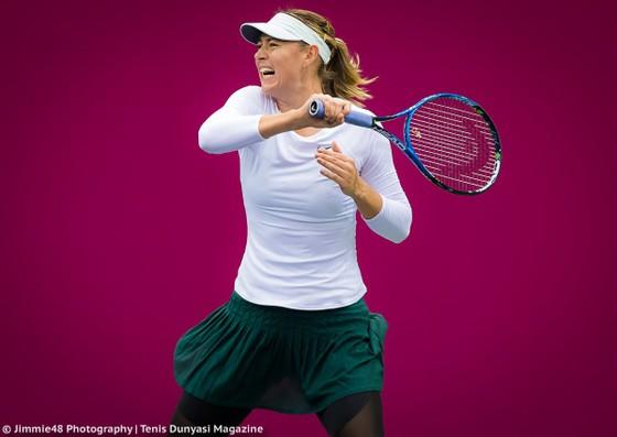 Mất 78 phút, Sharapova lọt vào trận chung kết đầu tiên sau 2 năm
