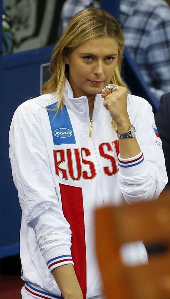 Maria Sharapova - Tự hào là người Nga ảnh 4