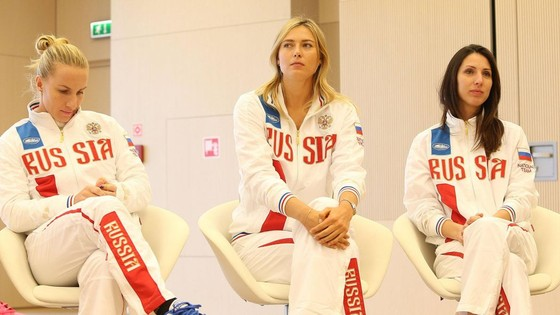 Maria Sharapova - Tự hào là người Nga ảnh 1