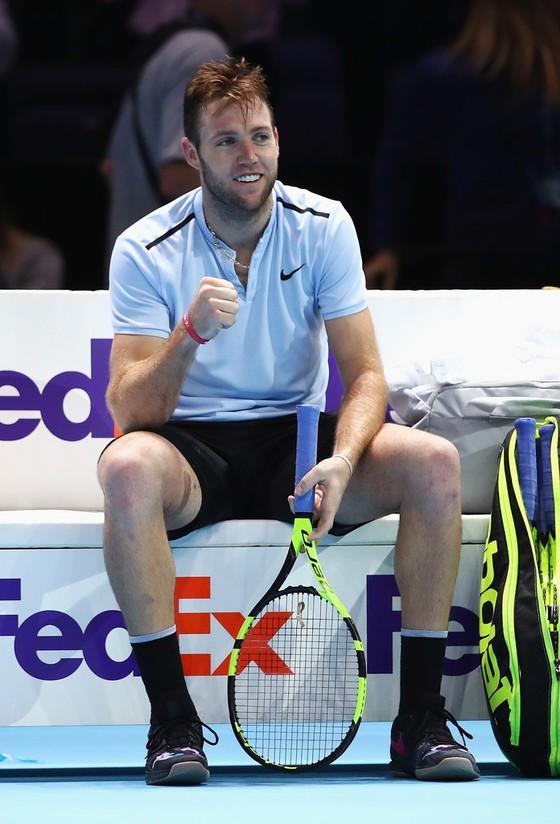 """Giải """"Bát đại cao thủ"""" tại London: Federer """"bất khả chiến bại"""", Sock hạ """"đệ tam kiếm"""" ảnh 1"""