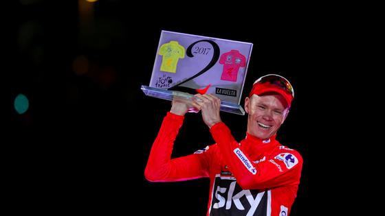 Chris Froome ở Vuelta 2017