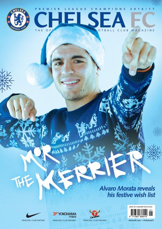 Morata tâm sự trên Tạp chí tháng 12 của Chelsea – Xem DVD của Drogba, tập luyện với cha… ảnh 1