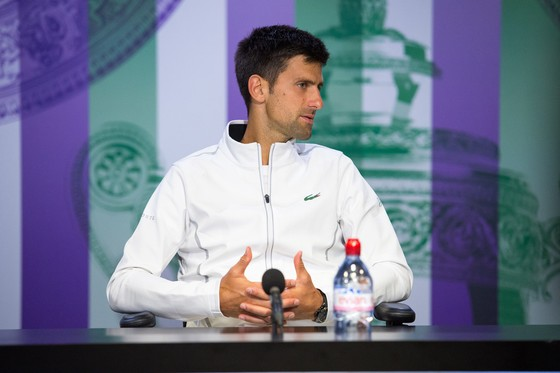 Lần cuối cùng Djokovic hiện diện trên sân đấu là ở Wimbledon