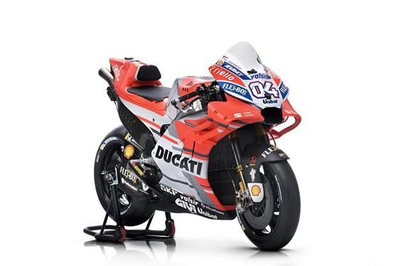 Đua xe mô tô: Ducati công bố mẫu xe đua mới cho Moto GP 2018 ảnh 1