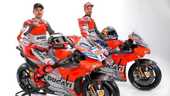 Đua xe mô tô: Ducati công bố mẫu xe đua mới cho Moto GP 2018 ảnh 6