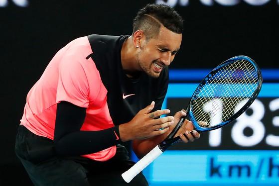 """Australian Open 2018: Báo thù """"Tiểu tử ngổ ngáo"""" Kyrgios, """"Đệ tam kiếm"""" Dimitrov vào tứ kết ảnh 1"""