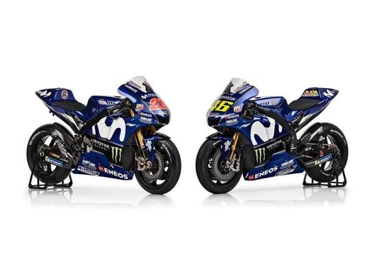 Đua xe mô tô: Yamaha giới thiệu mẫu xe đua mới YZR-M1 ảnh 2